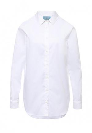 Рубашка MOS. Цвет: белый