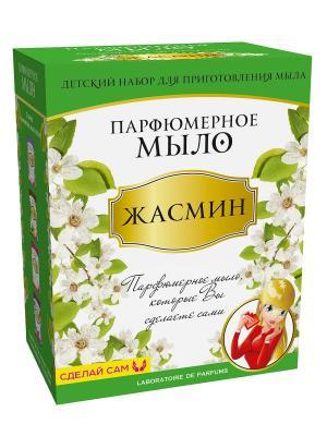Мыло парфюмированное Жасмин Master IQ2. Цвет: зеленый