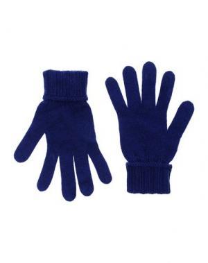 Перчатки BLUGIRL BLUMARINE. Цвет: синий