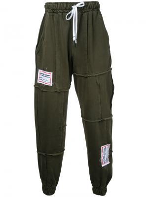 Спортивные брюки Process Liam Hodges. Цвет: зелёный
