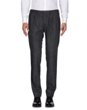 Повседневные брюки GERMANO. Цвет: свинцово-серый