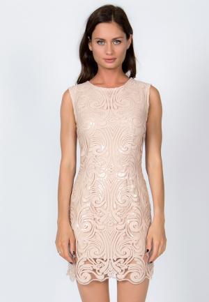 Платье Vestetica. Цвет: бежевый