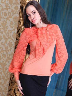 Кофточка Lussotico. Цвет: оранжевый