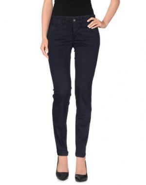 Повседневные брюки BLAUER. Цвет: темно-синий