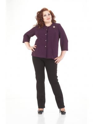 Жакет LUDMILA. Цвет: фиолетовый
