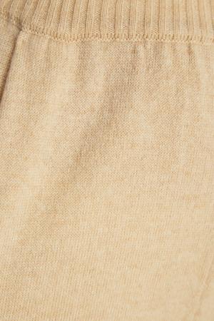 Бежевые брюки из кашемира Alena Akhmadullina. Цвет: бежевый