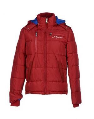 Куртка JOE RIVETTO. Цвет: красный