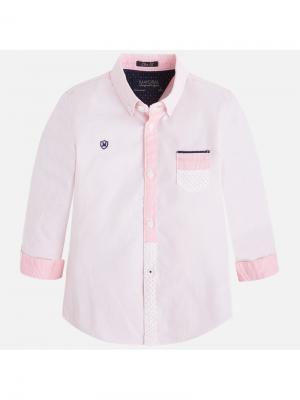 Сорочка Mayoral. Цвет: розовый
