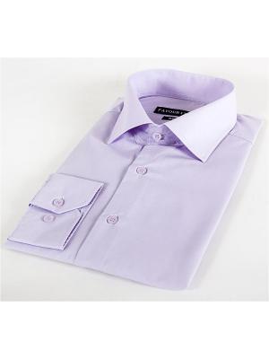 Рубашка Favourite. Цвет: сиреневый