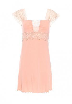 Сорочка ночная Monti&Farr. Цвет: розовый