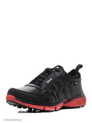 Ботинки EDITEX. Цвет: черный, красный