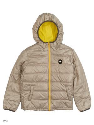 Куртка Senso kids. Цвет: светло-серый