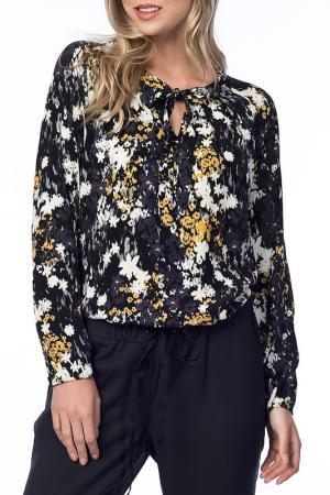 Блузка NARAMAXX. Цвет: мультицвет
