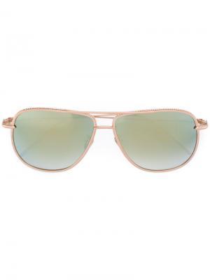 Солнцезащитные очки Magnificient Frency & Mercury. Цвет: металлический