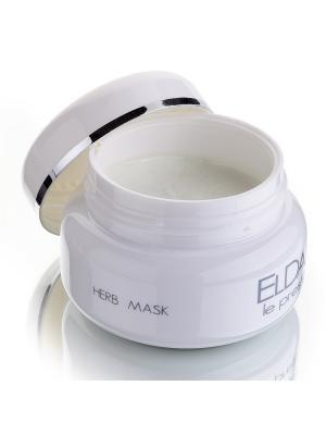 Травяная маска ELDAN cosmetics. Цвет: белый