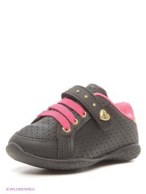 Ботинки Klin. Цвет: черный