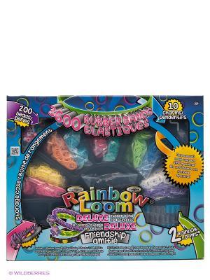 Набор для плетения браслетов Рейнбоу Лум Делюкс RAINBOWLOOM. Цвет: голубой