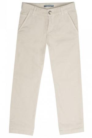 Бежевые брюки Darcy Bonpoint. Цвет: none