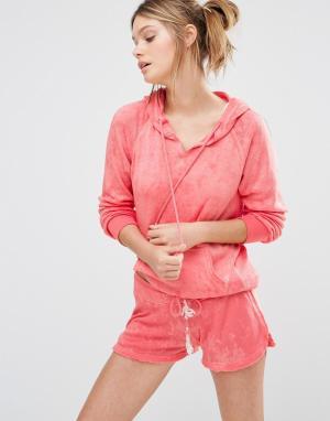 Ocean Drive Худи-пуловер. Цвет: оранжевый