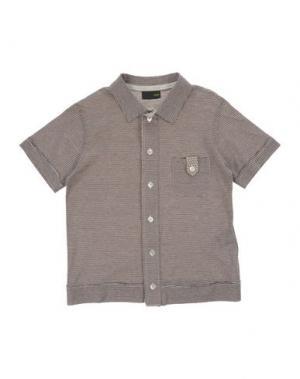 Pубашка FENDI. Цвет: темно-коричневый