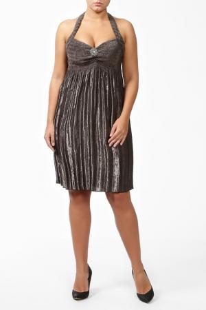 Платье Frank Lyman Design. Цвет: коричневый с отливом