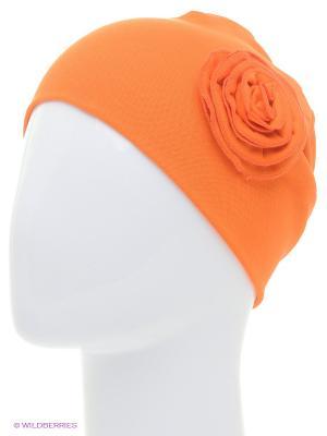 Шапка Апрель. Цвет: оранжевый