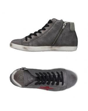 Высокие кеды и кроссовки CIVICO 38. Цвет: серый