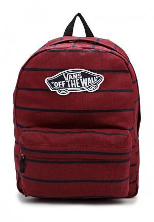 Рюкзак Vans. Цвет: бордовый