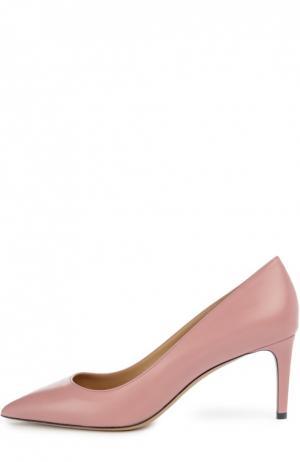 Туфли Elaise с зауженным мысом Bally. Цвет: розовый