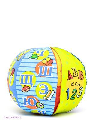 Говорящий мяч K'S Kids. Цвет: оранжевый, голубой