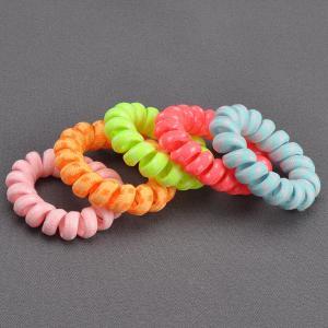 Комплект Резинок-Пружинок для волос 5 шт/уп, арт. РПВ-308 Бусики-Колечки. Цвет: разноцветный