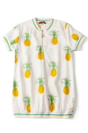 Рубашка I love to dream. Цвет: мультиколор, ананас