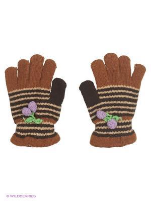 Перчатки Shapkoff. Цвет: коричневый, черный