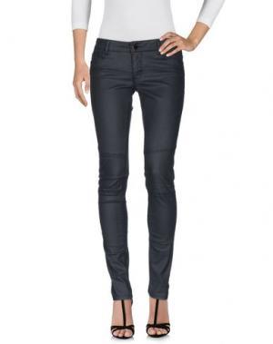 Джинсовые брюки MAJE. Цвет: черный