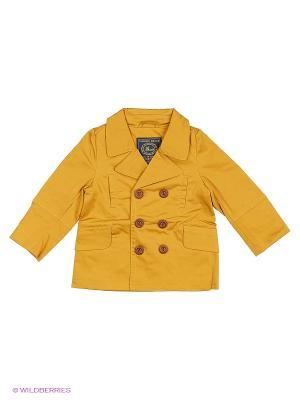 Куртка Senbodulun. Цвет: желтый