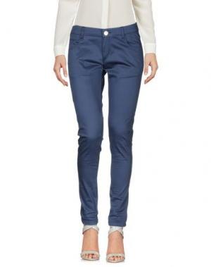 Повседневные брюки CAFèNOIR. Цвет: грифельно-синий
