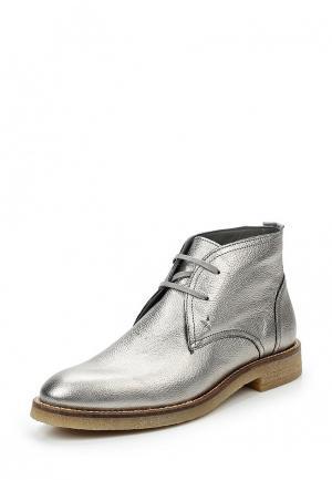 Ботинки Tommy Hilfiger. Цвет: серебряный