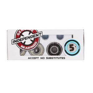 Подшипники для скейтборда  Bearing Abec-5s Black/Grey Independent. Цвет: черный,серый