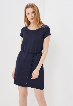 Платье Vila. Цвет: синий