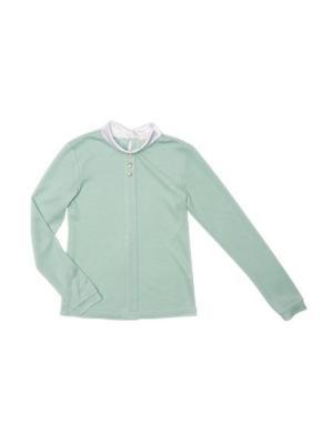 Блузка Stillini. Цвет: зеленый