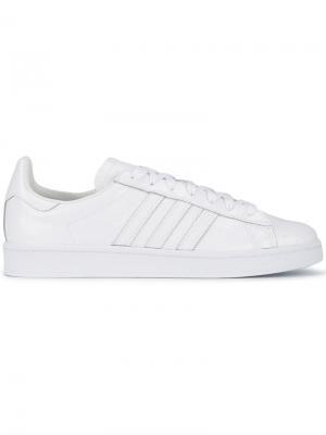 Кеды Campus 80s Adidas By White Mountaineering. Цвет: белый