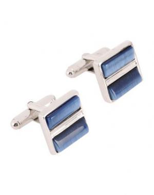 Запонки и зажимы для галстука TATEOSSIAN. Цвет: синий