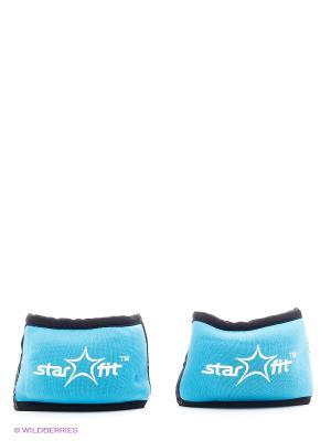 Утяжелители STAR FIT WT-101 для рук Браслет, 0,75 кг, синий/черный Starfit. Цвет: черный, синий