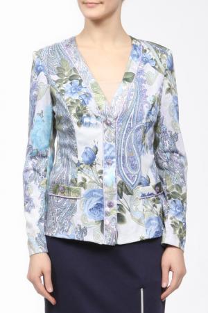 Жакет M&L Collection. Цвет: голубой
