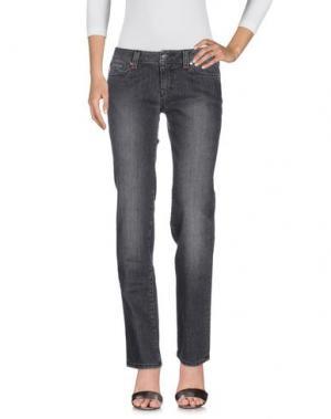 Джинсовые брюки TRAMAROSSA. Цвет: стальной серый