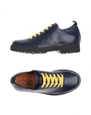 Обувь на шнурках PÀNCHIC. Цвет: темно-синий