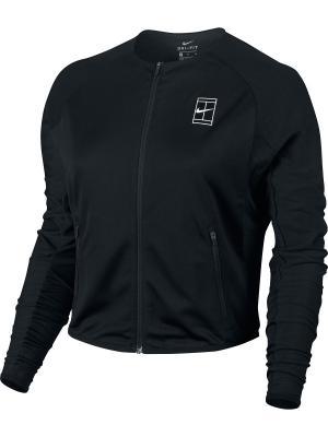 Куртка W NKCT DRY JKT BL Nike. Цвет: черный, белый