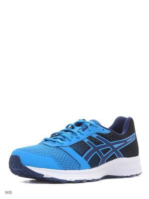 Спортивная обувь PATRIOT 8 ASICS. Цвет: белый, синий, темно-синий