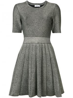 Платье Susana A.L.C.. Цвет: металлический