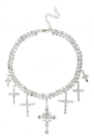 Ожерелье 157272 So Allure. Цвет: серый